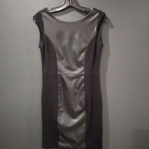 Smart Set black Mini dress with faux leather
